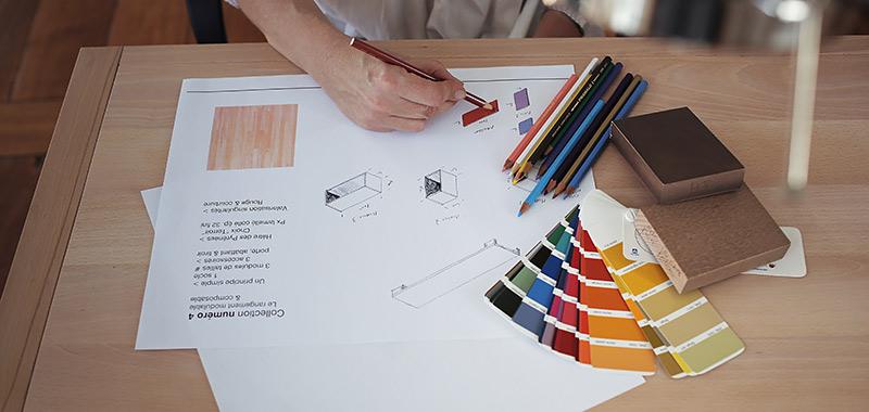 meuble en bois massif design la compagnie du h trela compagnie du h tre. Black Bedroom Furniture Sets. Home Design Ideas