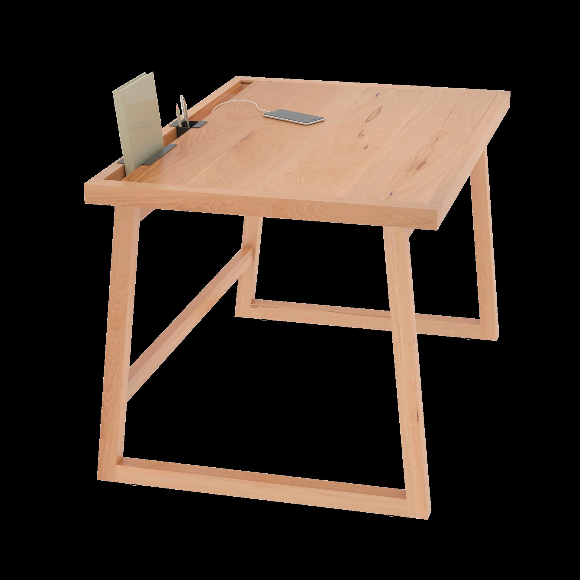 La Compagnie Du Hetre bureau bois massif hêtre compagnie 150 cm - dès 462€ - la compagnie du hêtre
