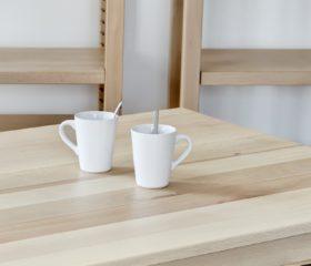 Table bois massif 150 cm pieds simples – Dès 428,24€